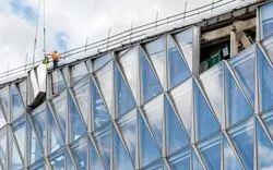 Glass Cladding  Work