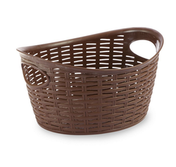 Cresta Oval Basket (9 Ltr), Brown