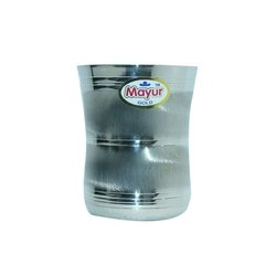 Damru Platinum SS Drinking Glass