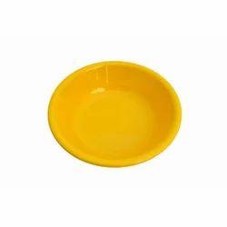 Yellow Individual Salad Bowl