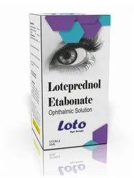 Loteprednol Etabonate Eye Drops