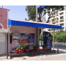 PVC Awning Structure