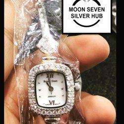 Luxury(Premium) Analog Silver Watches