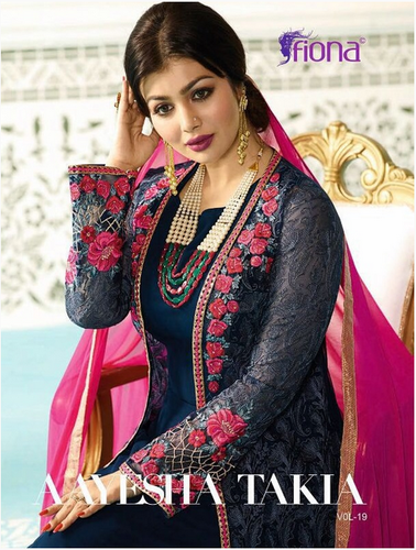 cab63fbc80 Fiona Aayesha Takia Vol-19 Party-Wear Salwar Suits at Rs 1495 /piece ...