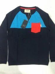 Black Blue Design Full T Shirt