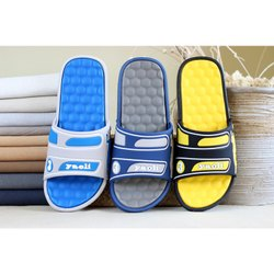 Daily wear Imported PVC High Quality Men Slipper, Size: 40-45 In6-11