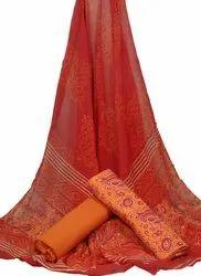 Cotton Unstitched Salwar Suit Material