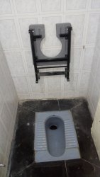 Wall Mounted Commode, For Bathroom Fitting