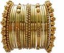 Gold Metal Bangles