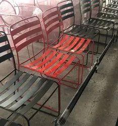 Steel Study Chair