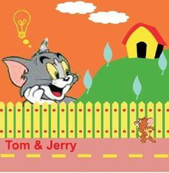 Big Stencils Tom & Jerry