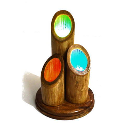 LED Handmade Decorative Bamboo Table Lamp