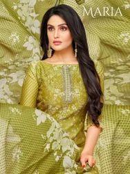 275dc49c52 Moof Fashion Maria Heavy Upada Silk Punjabi Suits