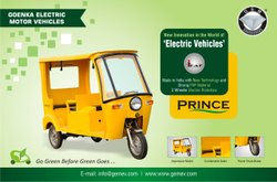 GEM Prince Battery Operated E-Rickshaw