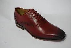 Men's Tan Leather Formal Shoes