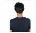 Black Synthetic Men Wig