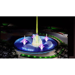 Modern Musical Fountain