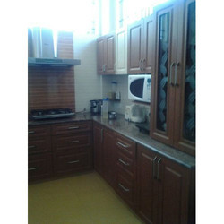 Stylish L Shaped Modular Kitchen