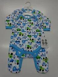 02 Pack Sleepsuit & Bodysuit with Hanger Pack