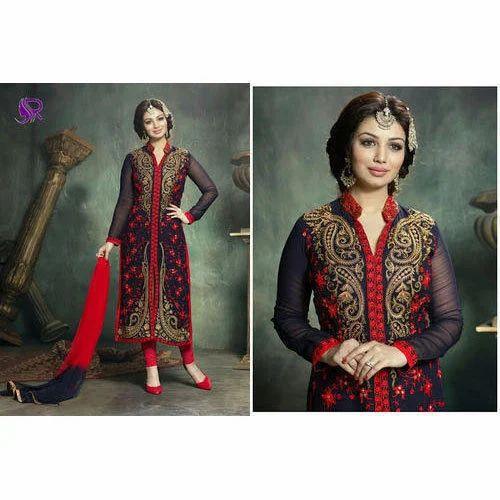 Georgette Wedding Wear Designer Heavy Suit Rs 2600 Piece Punjabi Fashion Store Id 17199327530