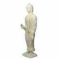 White Gautam Buddha Statue
