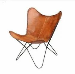 Leather Butterfly Chair, Relaxing Chair
