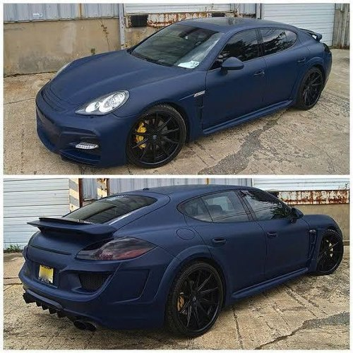 Matte Blue Car >> Matte Dark Blue Car Wraps