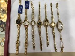 Times Gold Plated Female Watches