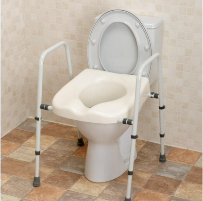 Bathroom Safety Rails And Non Slip Mats Mowbray Toilet Seat With Frame Wholesale Trader From Kolkata
