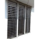 Standard Exterior Stainless Steel Window Grill, For Residential, Material Grade: Ss 304