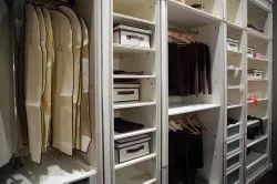 Brown Wooden Modular Wardrobes, For Home