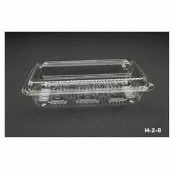 H-2-B Plastic Container