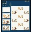 Ceramic Selza Printed Kitchen Tiles, Size: 300*450 Mm, Thickness: 5-10 Mm