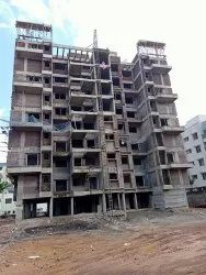 White Buliding Construction, in Pune