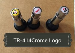 TR 414 Crome Tubeless Tyre Valve