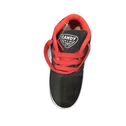 Sneaker Red and Black Casual Wear Kids Shoes