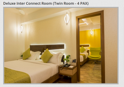 Deluxe Inter Connect Twin Room - 4 PAX Service