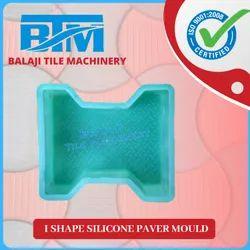 I Shape Silicone Paver Mould
