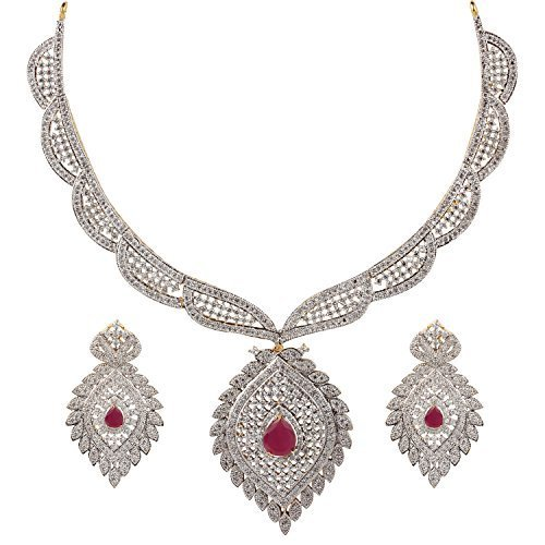 American Diamond Jewelry Size Normal Rs 1139 Piece