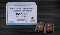 Mefenamic Acid 250 mg, Dicyclomine 10 mg & Paracetamol 325 mg