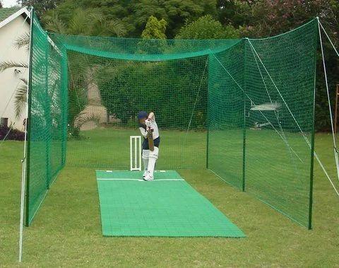 Green Cricket Practice Net क्रिकेट नेट Perfect Safety