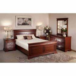 Wooden Double Bed - Manufacturers & Suppliers of Wooden Full Size Bed
