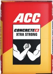 ACC Concrete Plus Xtra Strong Cement, Packaging Type: Bag