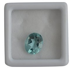 Blue Glass Aquamarine Gemstone