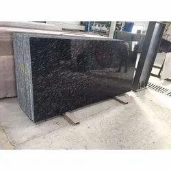 Zebra Black Granite Slab, For Flooring, Thickness: 16-17 mm