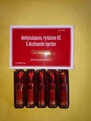 Methylcobalamin, Pyridoxine,Nicotinamide