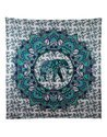 Center Elephant Printed Tapestry