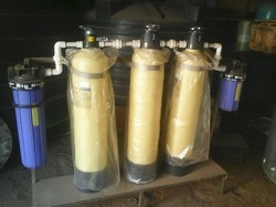 FRP Blue, Yellow Water Softeners