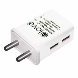 Dual USB Charging Adapter