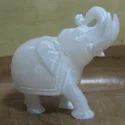 Marble Alabaster Shine Elephant Statue